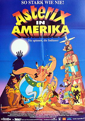 Bild::Asterix in Amerika